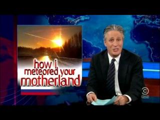 Американская передача The Daily Show о жизни в России