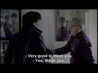 Шерлок/ Sherlock 3 серия 1 сезон (на английском языке с субтитрами)